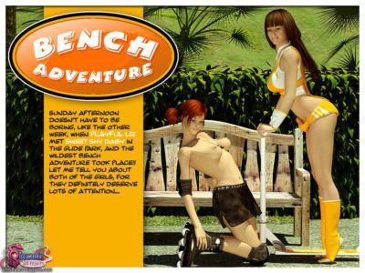 Bench Adventure - Shemale 3D Futanari