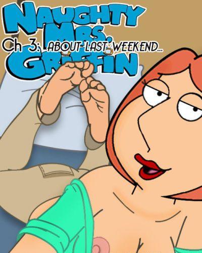 المشاغب mrs. غريفين 3 عن آخر عطلة نهاية الأسبوع