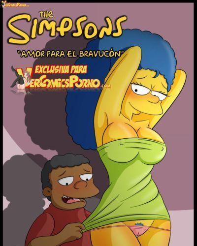 Los Simpsons- Amor para el bravucón