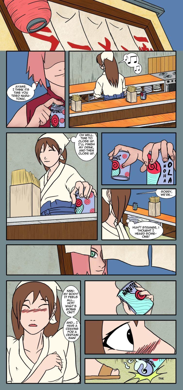 naruto sakura hentai arsch