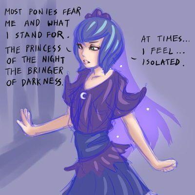 [123stw] Luna POV (My Little Pony Friendship Is Magic)
