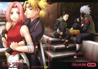 (C69) CELLULOID-ACME (Chiba Toshirou) Himitsu - The Secret (Naruto) persepolis130 Colorized Incomplete
