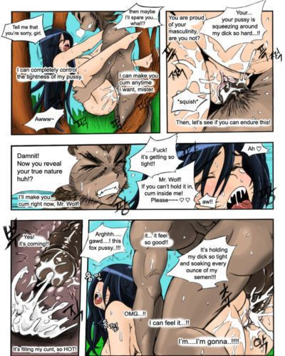 KimMundo The Wolf and the Fox (League of Legends) {halftooth} - part 2