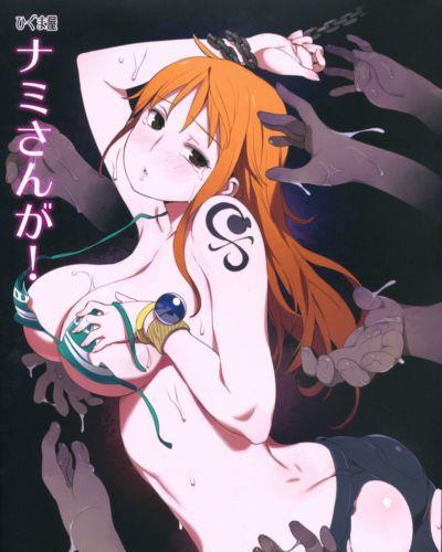 (C81) Higuma-ya (Nora Higuma) Nami-san ga! (One Piece) Colorized Incomplete