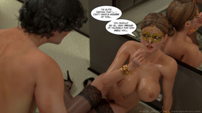 Clara Ravens 4- Colombina's Illusion - part 24