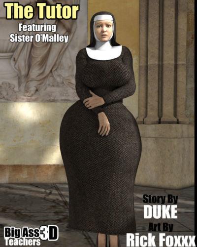 The Tutor- Big Ass3D Teachers- Duke Honey