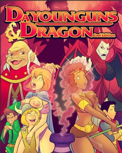 Jab Comix- Da'Younguns & Dragons 2