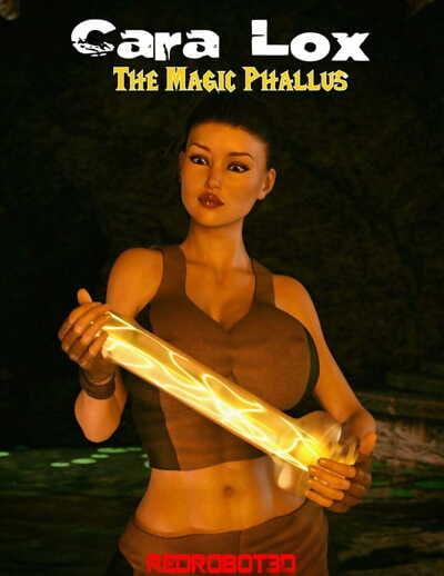 Redrobot3D- Cara Lox- The Magic Phallus