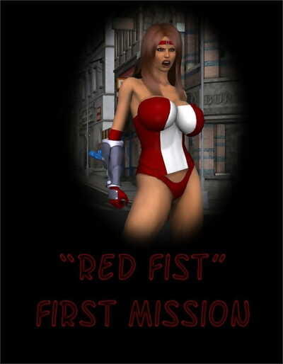 Captured Heroines – Red Fist First Mission
