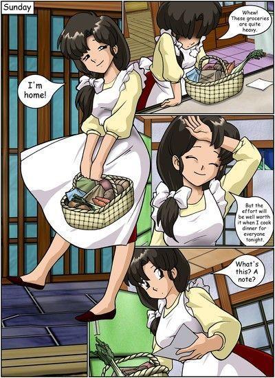 Keeping it clean- Ranma Hentai