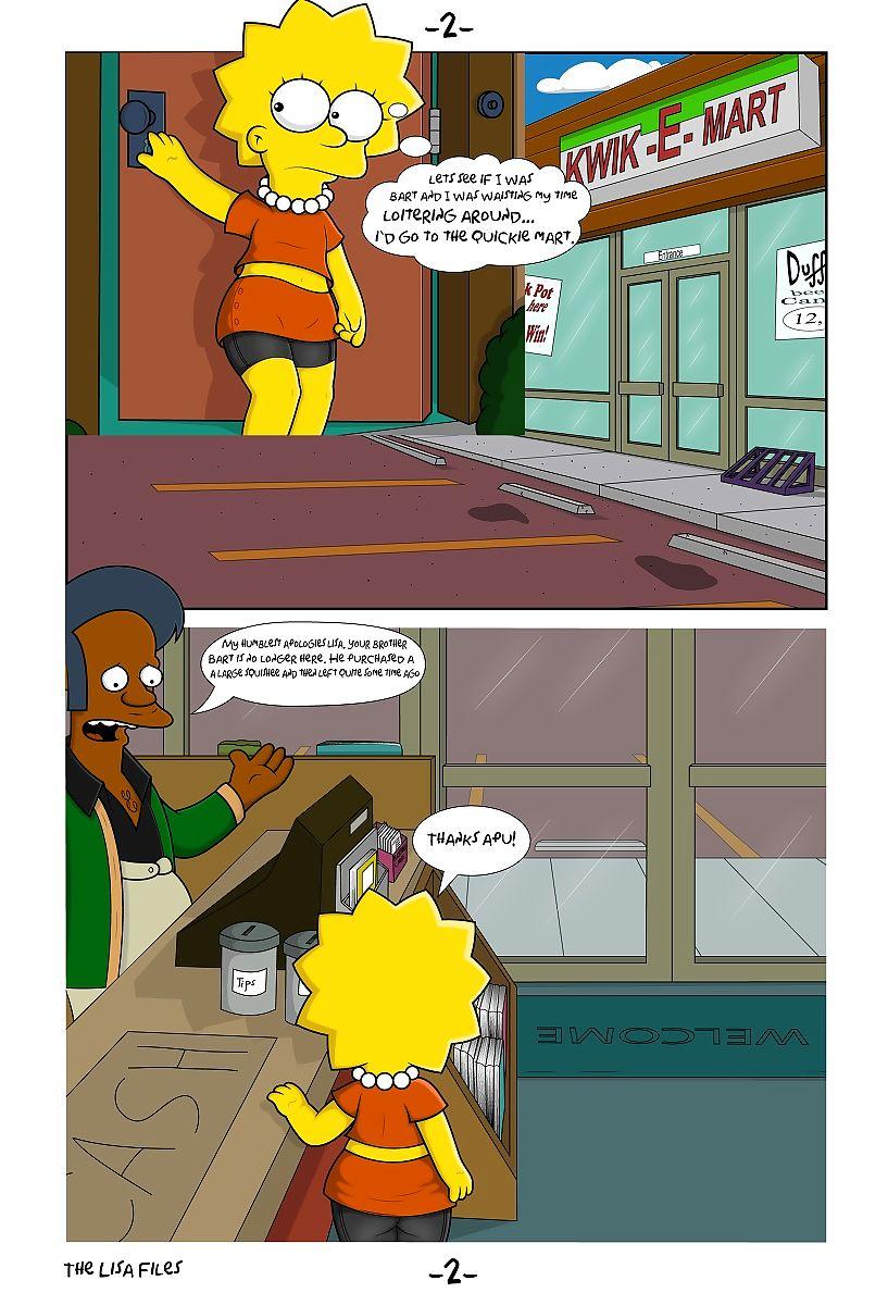 Hentai comic simpson lisa The Simpsons