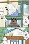 Otousan (Otou) Shirokuma-san to Haiiroguma-san ga Ecchi suru dake - Polar Bear and Grizzly Just Have Sex @and_is_w