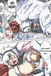 (COMIC1 2) An-Arc (Hamo) Kirin no Hanshokuki (Monster Hunter) XHakuX Colorized Incomplete