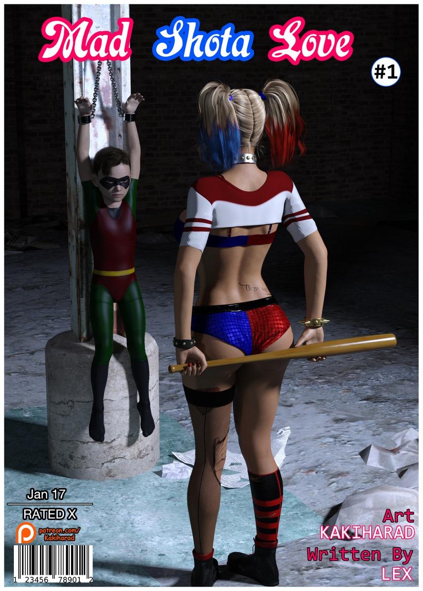 Hentai comic quinn harley Harley Quinn