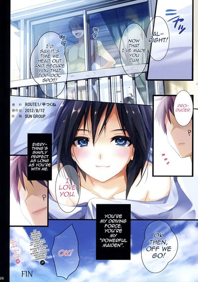 (C82) [ROUTE1 (Taira Tsukune)] Powerful Otome 4 (THE iDOLM@STER)  [QBtranslations] - part 2