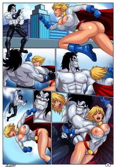 Horny Superheroines