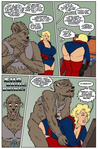 Blonde Marvel - Mervin The Monster