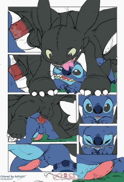 Stitch vs Toothless