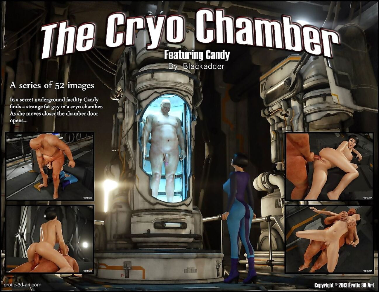 The Cryo Chamber-Blackadder