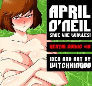 April O' Neil- Save The Turtles- Witchking00