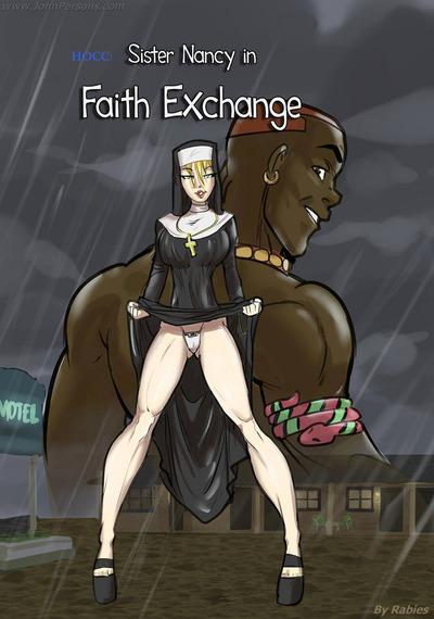 Сестра Нэнси в вера обмен бешенство