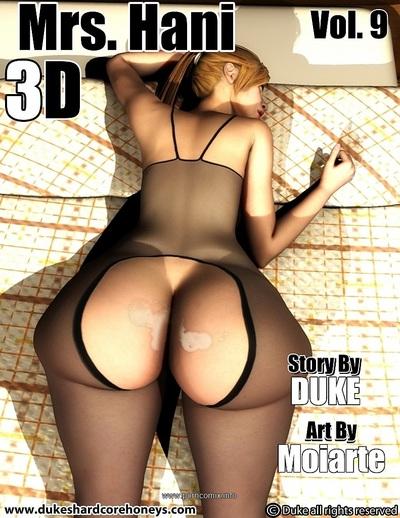 Mrs. Hani 3D Vol.9- Duke hardcore Honey