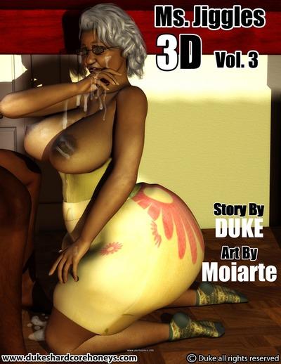 Ms Jiggles 3D - Vol.3- Duke Honey