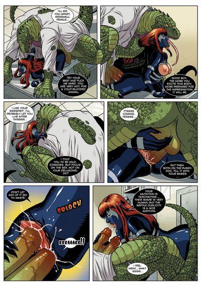 Spider-Man Sexual Symbiosis 1 - part 2