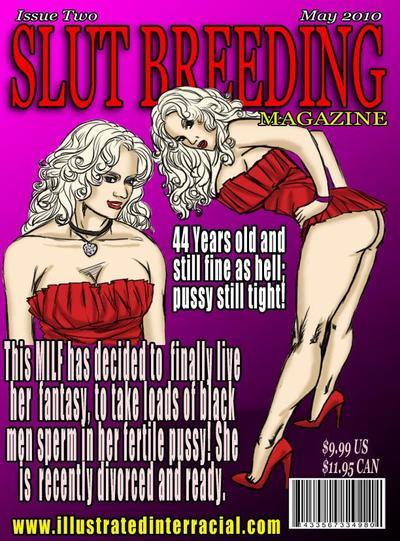 Slut Breeding 2- illustrated interracial