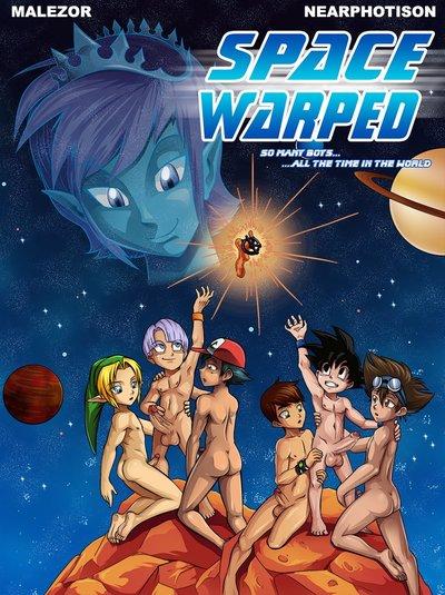 Dragon Ball Space Warped- Near Hentai