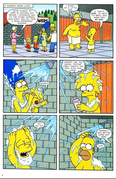 The Simpsons au Naturel!