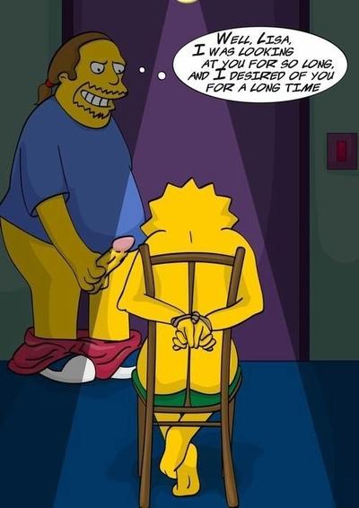 Simpsons - XXX Story in Comics