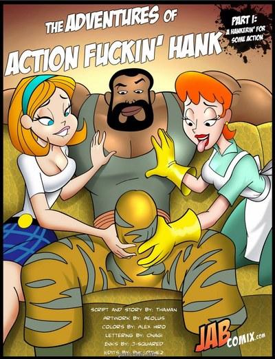 Jab Comix - Adventures of Action Fuckin\