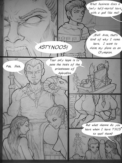 Astynoos And The 4 Priestesses Of Aphrodch