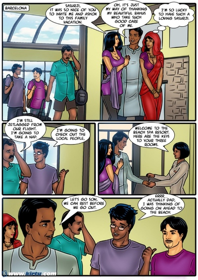 Savita Bhabhi 57 - The Bad Bahus