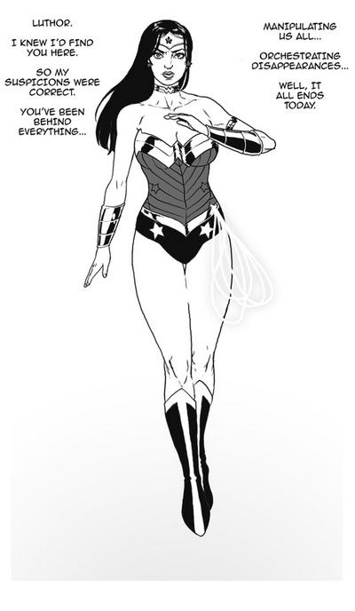 Wonder Woman VS The Bimbo Toxin