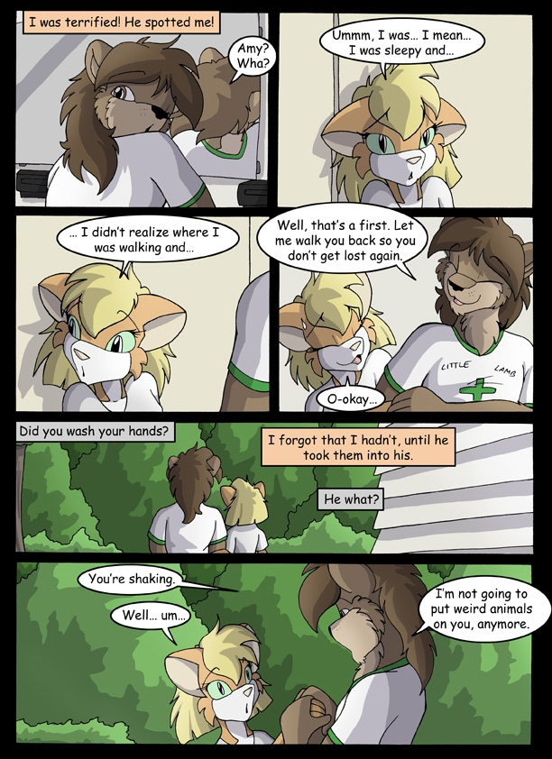 Amy\'s Little Lamb Summer Camp Adventure
