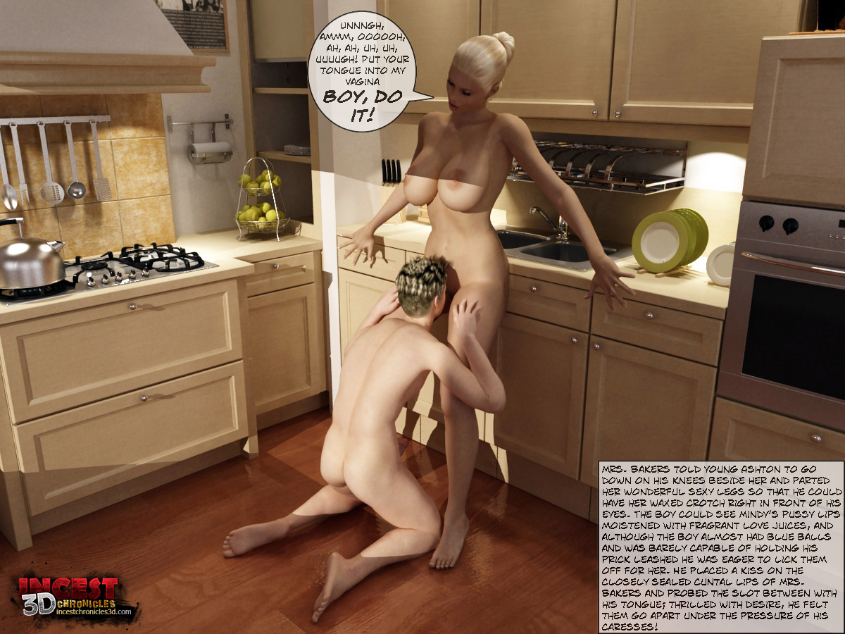 Mom And Boys- IncestChronicles3D - part 2