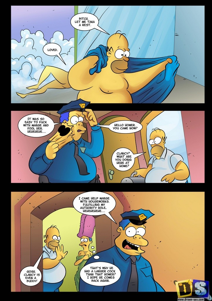 Simpsons- Wiggum\'s turned to Homer