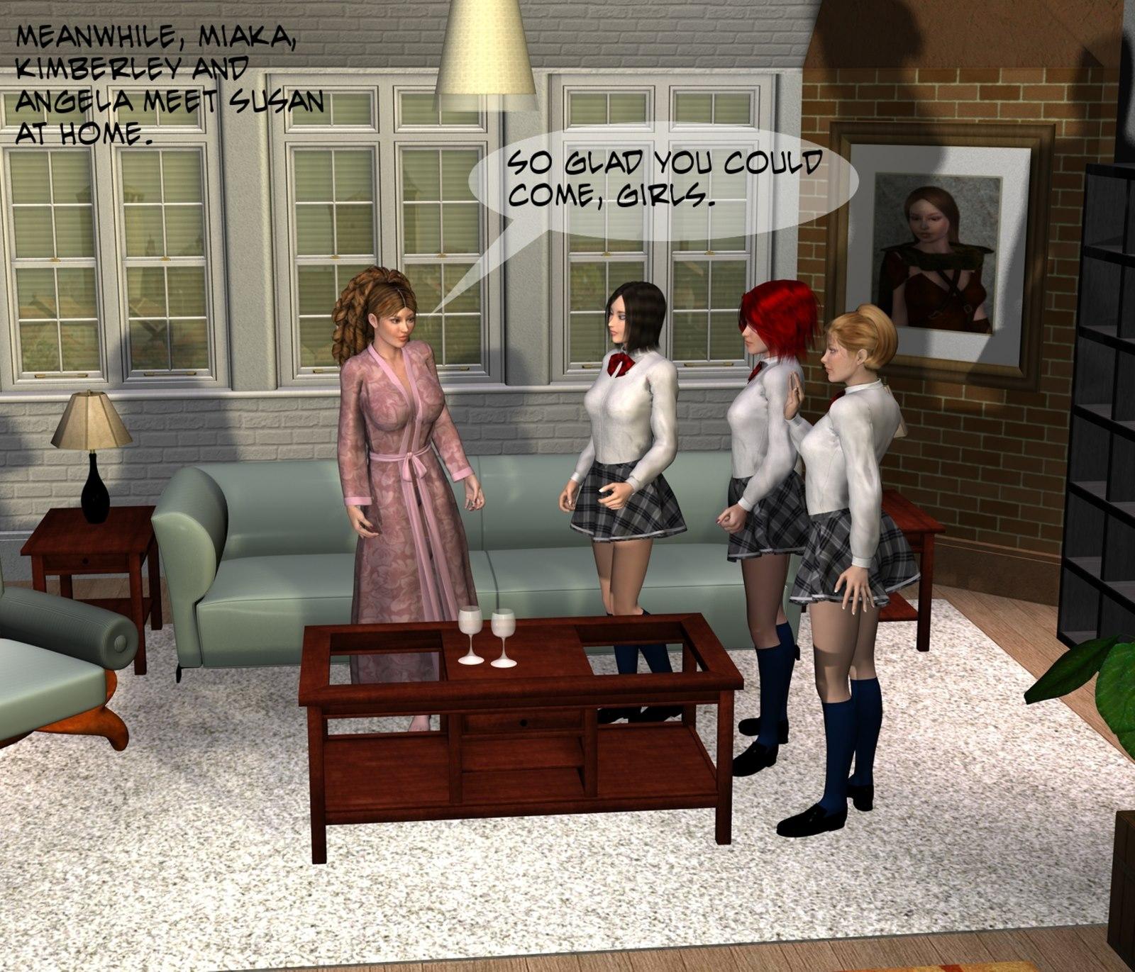 School For Girls Ch. 9- Saint Irene