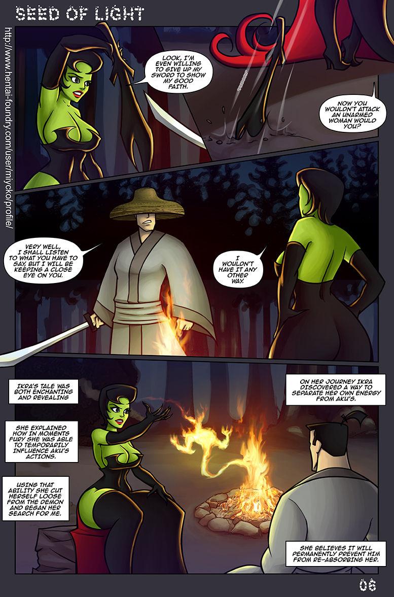Seed Of Light- Samurai Jack