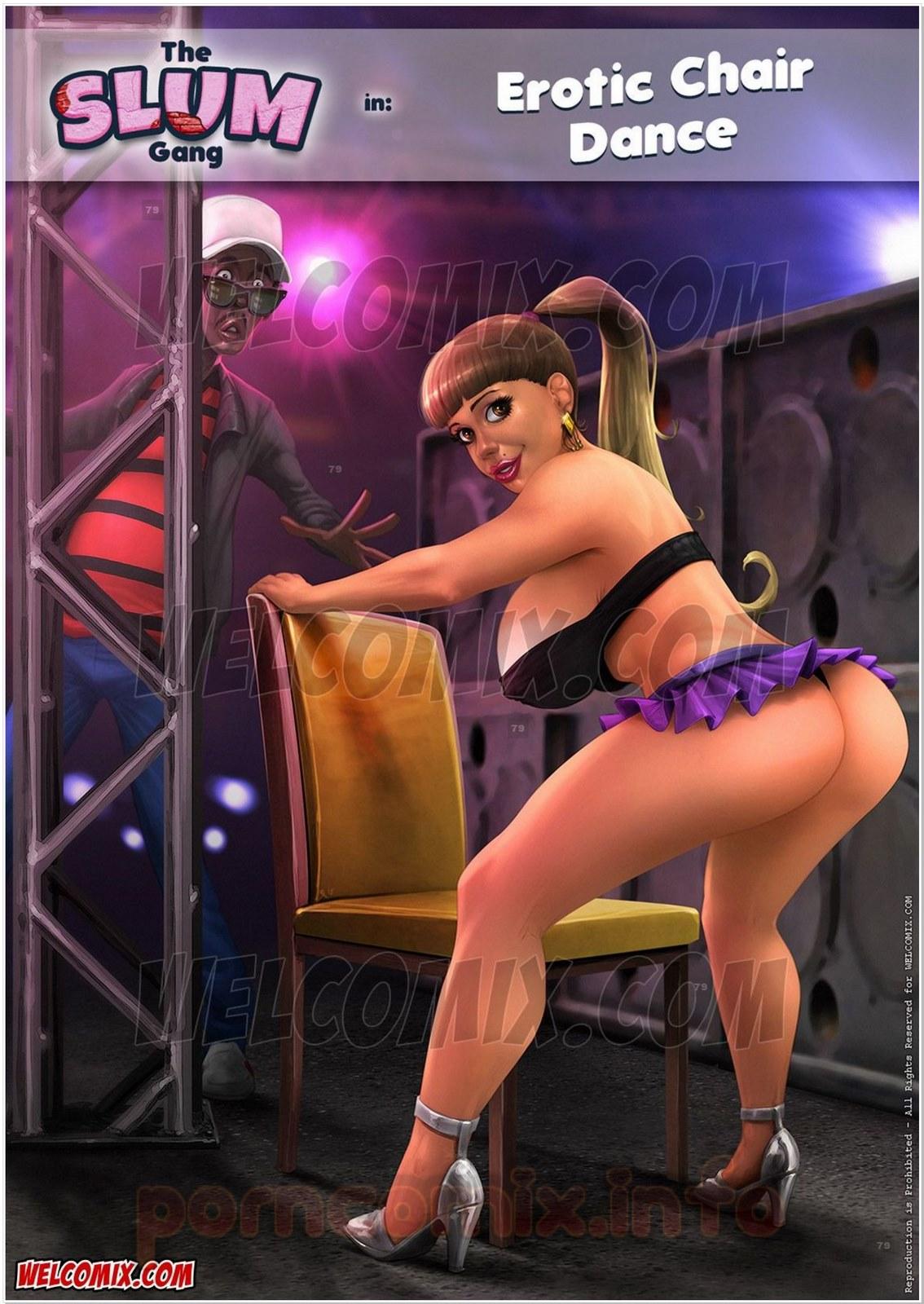 Brazilian Slumdogs- Erotic Chair Dance