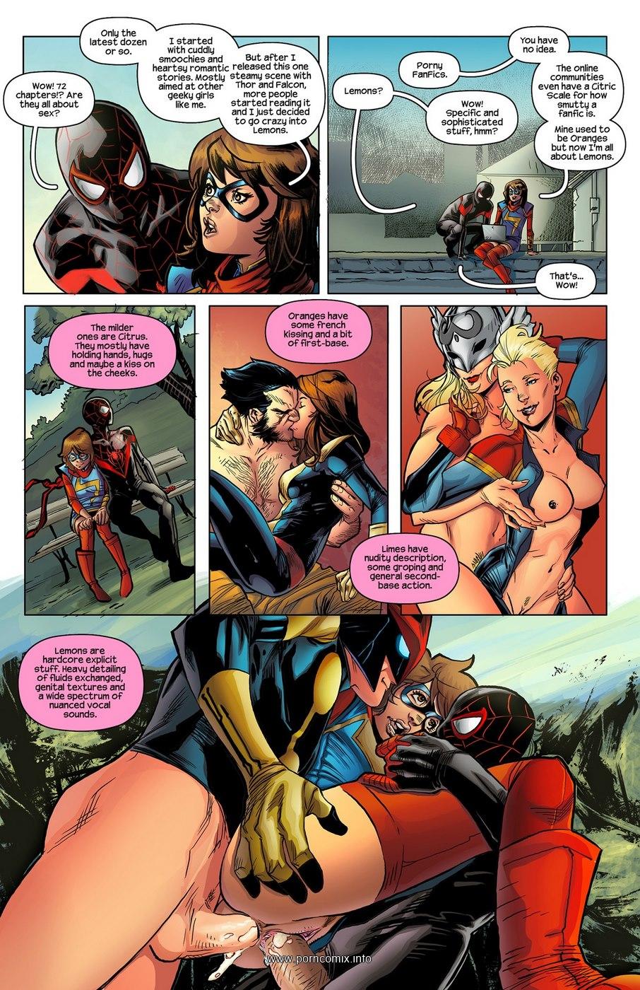 Miss Marvel Spider-Man- Tracy Scops