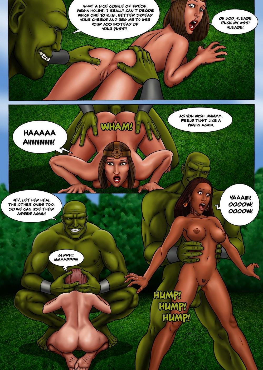 Baldur\'s Gape- Ogres assfuck their enemies dry best - part 2
