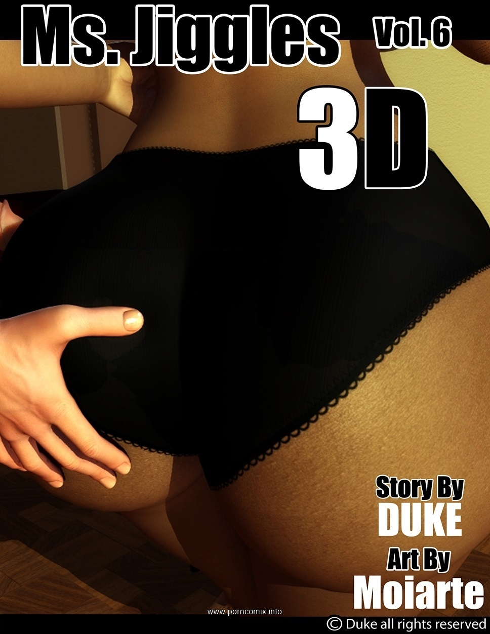 Ms Jiggles 3D - Part 6- Duke Honey