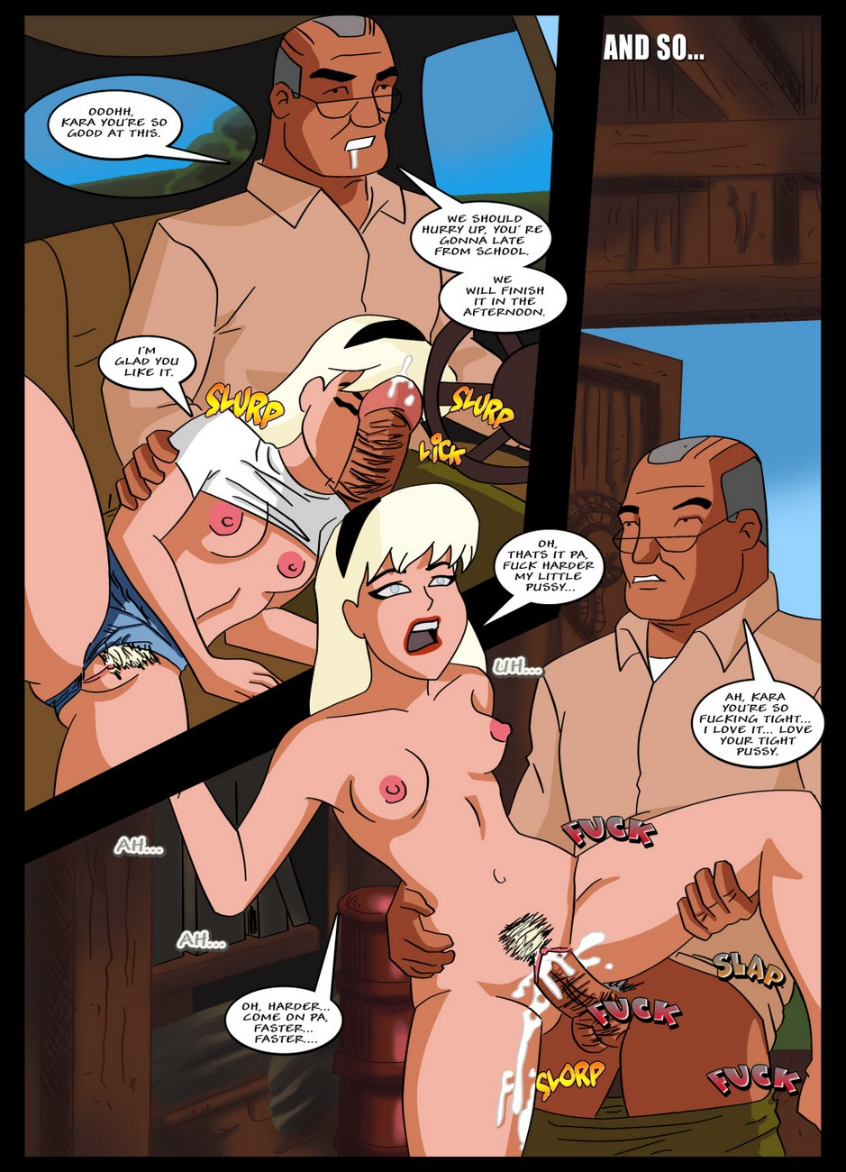 Supergirl Adventures 1 - Horny Little Gich