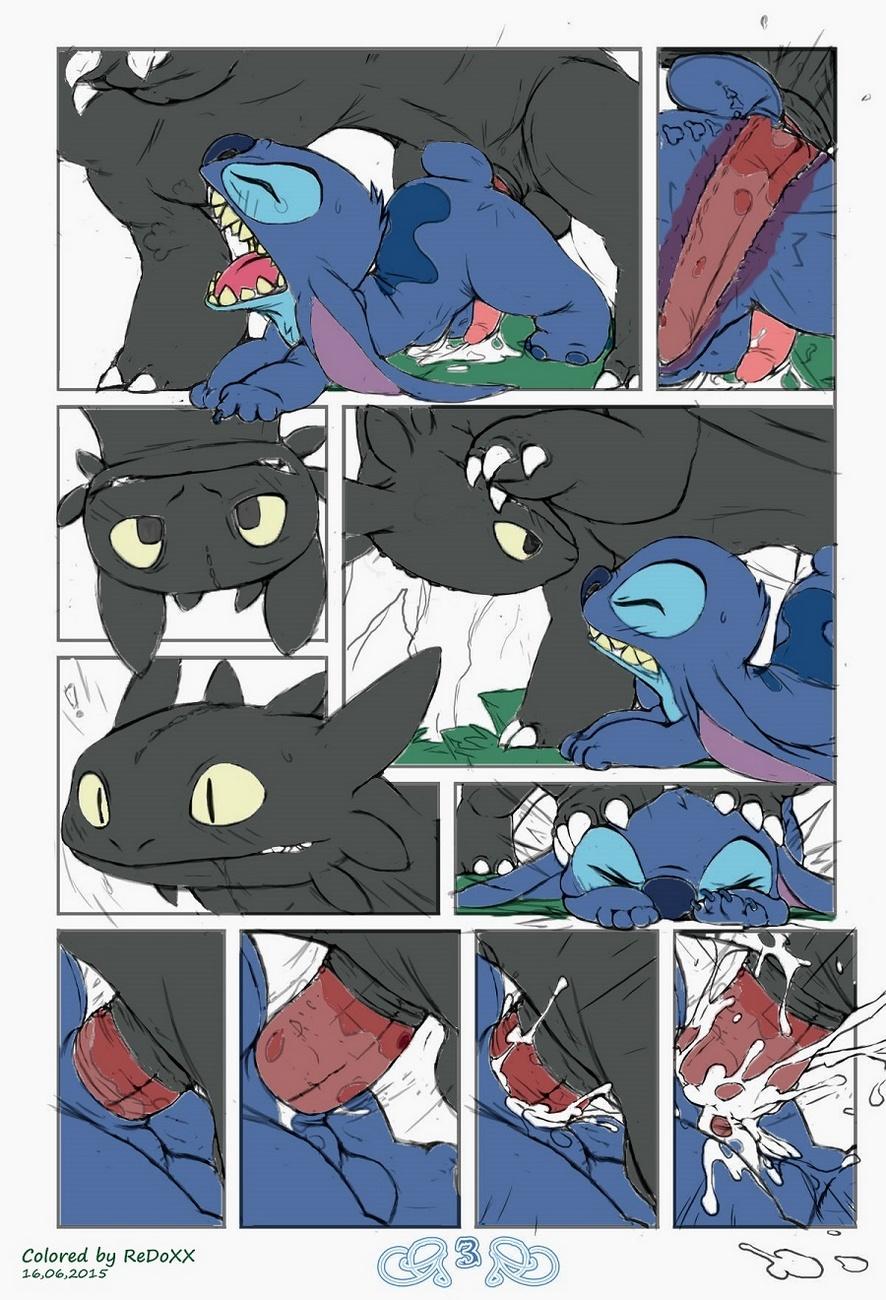 Stitch vs Toothless