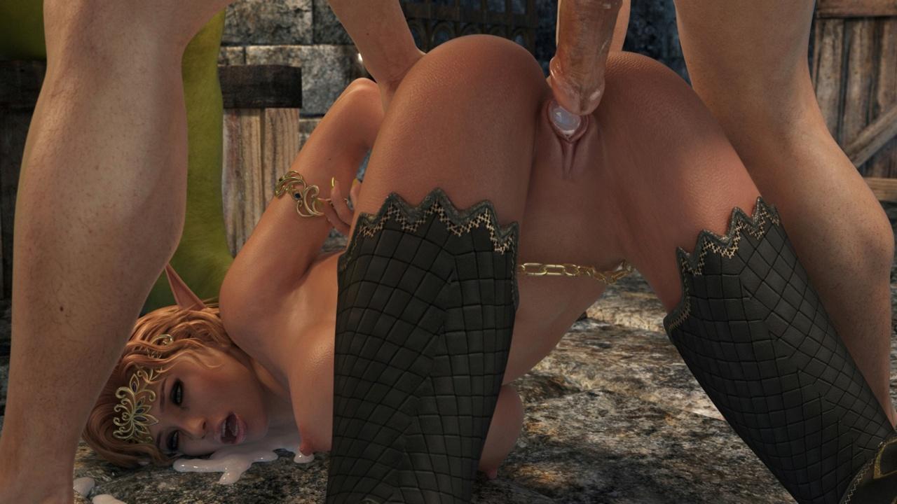 Elven Desire - Prison Perils 2 - part 3