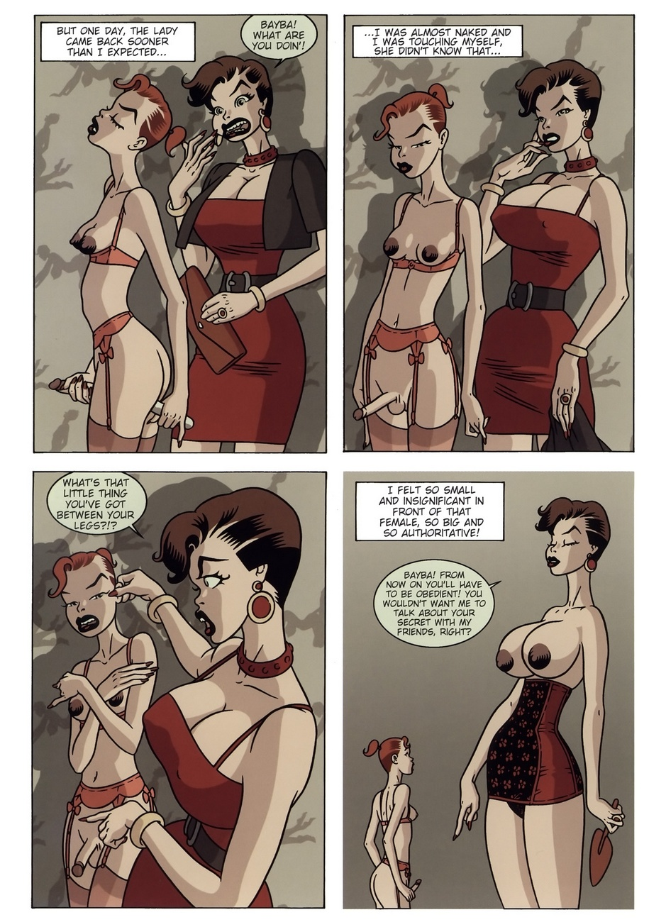 Domina In Red - part 2