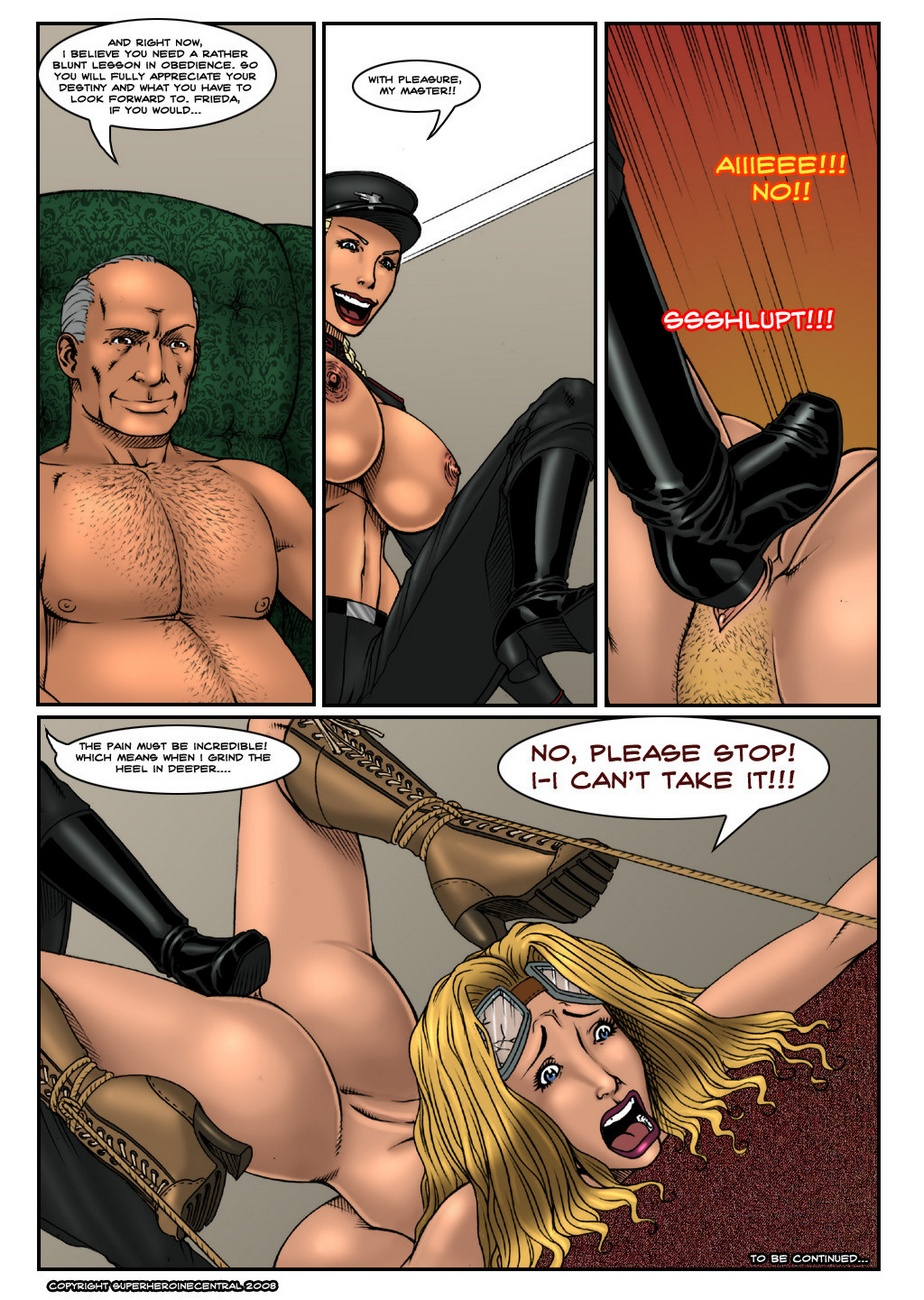 Busty Bombshell - Axis Of Evil - part 2